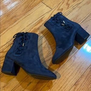 NEW Cole Haan Ankle Boots with Laced bow tie